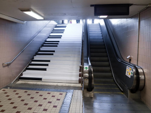 Odenplan Subway Stairs
