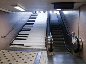 Odenplan Subway Stairs
